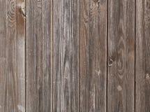 Der abstrakte Hintergrund der braunen Vertikale alterte Kiefernbretter, vint Stockfotos