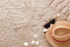Der abstrakte sandige tropische Strand Lizenzfreies Stockbild
