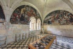 In der Abtei Stockbild