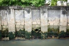 Der Abwasserkanal Stockbilder