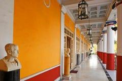 Der Achilleion Palast in Korfu, Griechenland Lizenzfreie Stockbilder