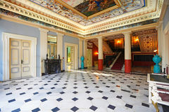 Der Achilleion Palast in Korfu, Griechenland Lizenzfreie Stockfotos