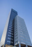 Der Achmea-Turm in Leeuwarden Stockfotos