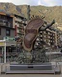 Der ` Adel von Zeit ` ist eine Salvador Dali-Skulptur Lizenzfreie Stockfotografie