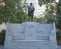 Der Admiral Farragut Monument bei Madison Square Park in New York Lizenzfreie Stockbilder