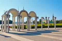 Der Admiralitäts-Bereich in der Stadt von Voronezh Lizenzfreie Stockbilder