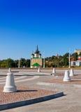 Der Admiralitäts-Bereich in der Stadt von Voronezh Lizenzfreie Stockfotografie