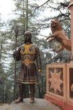 Der Affegotttempel von Shimla Stockfotografie