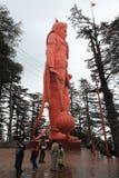 Der Affegotttempel von Shimla Lizenzfreie Stockfotografie