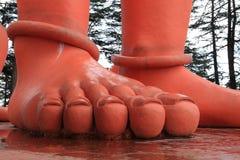 Der Affegotttempel von Shimla Lizenzfreies Stockfoto