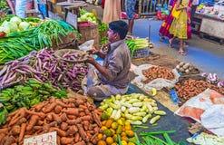 Der Agrarmarkt Lizenzfreie Stockfotos