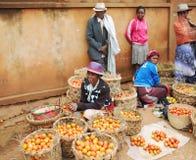 Der Agrarmarkt in Antananarivo madagaskar Lizenzfreie Stockbilder