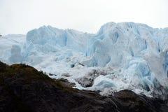 Der Aguila-Gletscher im südlichen Patagonia Lizenzfreie Stockfotografie
