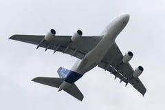 Der Airbus A380 Lizenzfreie Stockbilder