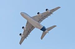 Der Airbus A380 Lizenzfreie Stockfotografie