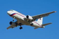 Der Airbus A319-111 VP-BIT von Rossiya-Fluglinien stockfoto