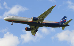 Der Airbus A321-211 (VP-BQR) Lizenzfreie Stockfotografie