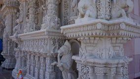 Der Akshardham-Tempel in Robbinsville, New-Jersey Stockfotos