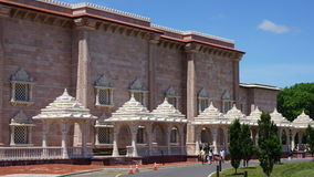 Der Akshardham-Tempel in Robbinsville, New-Jersey Stockbilder