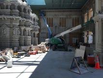 Der Akshardham-Tempel in Robbinsville, New-Jersey Stockbild