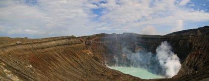 Der aktive Vulkan - der Aso Lizenzfreie Stockfotografie
