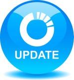 Der Aktualisierung Netzknopf jetzt lizenzfreie abbildung