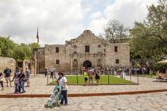 Der Alamo-Auftrag in San Antonio, Texas Stockbilder