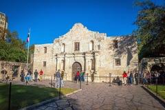 Der Alamo-Auftrag in San Antonio, Texas Stockfotos