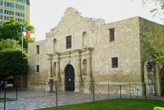 Der Alamo in San Antonio, Texas stockfoto