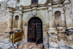 Der Alamo in San Antonio, Texas Stockbild