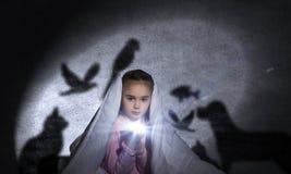 Der Albtraum des Kindes Lizenzfreie Stockfotos