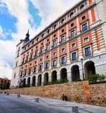 Fassade des Alcazar von Toledo Lizenzfreie Stockfotos