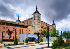 Alcazar von Toledo Stockfoto
