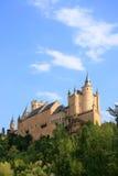 Der Alcazar (Segovia, Spanien) Stockbilder