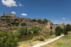 Der Alcazar in Toledo, Spanien Lizenzfreies Stockbild
