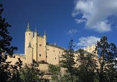 Der Alcazar von Segovia Lizenzfreies Stockbild