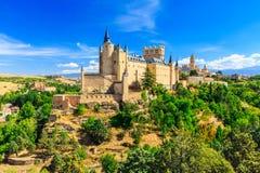 Der Alcazar von Segovia Lizenzfreie Stockfotografie
