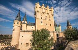 Der Alcazar von Segovia, eine Welterbestätte, Spanien Stockbild