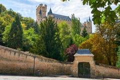 Der Alcazar von Segovia Spanien Lizenzfreies Stockbild