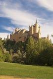 Der Alcazar von Segovia (Spanien) Lizenzfreies Stockbild