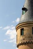 Der Alcazar von Segovia, Spanien, Detail eines Turms Lizenzfreies Stockbild
