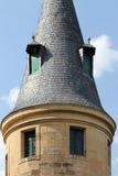 Der Alcazar von Segovia, Spanien, Detail eines Turms Stockfoto