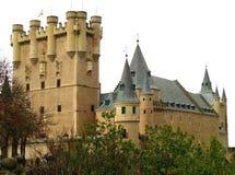 Der Alcazar von Segovia, UNESCO-Welterbestätte in Segovia Stockbild