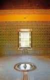 Der Alcazar von Sevilla Stockbilder