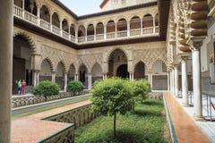 Der Alcazar von Sevilla Lizenzfreie Stockfotografie