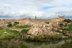 Der Alcazar von Toledo Stockbilder