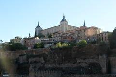 Der Alcazar von Toledo, Spanien Lizenzfreies Stockbild