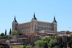Der Alcazar von Toledo, Spanien Lizenzfreie Stockfotografie