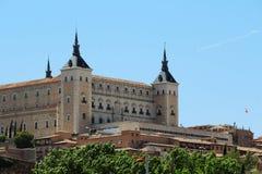 Der Alcazar von Toledo, Spanien Lizenzfreies Stockfoto
