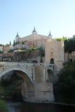 Der Alcazar von Toledo, Spanien Stockfoto